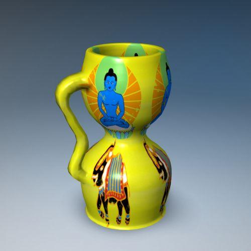 Hindu Vase