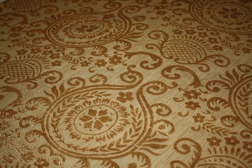 hinduism symbol fabric