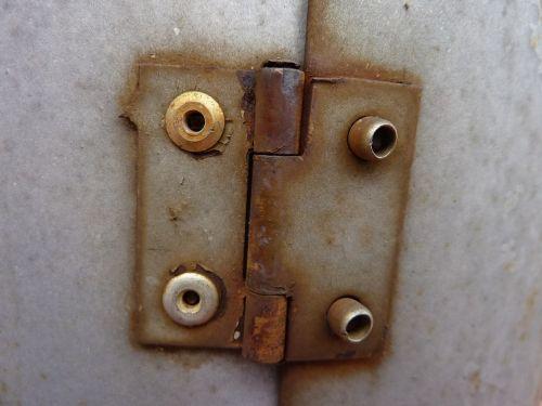 hinge door metal