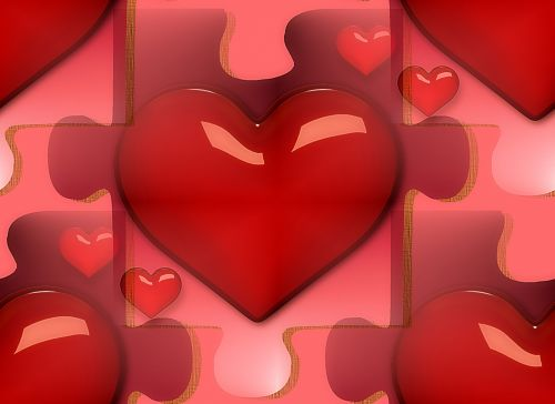 Free Photos Heart Puzzle Search Download