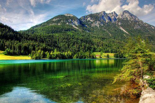 hintersteiner lake lake landscape