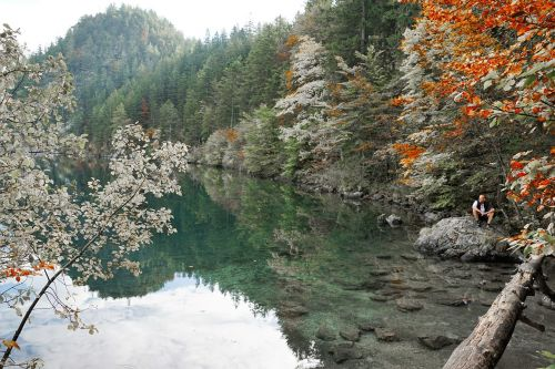 hintersteinersee lake lake kitzbühel