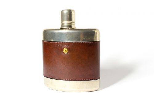 hip flask alcohol drink