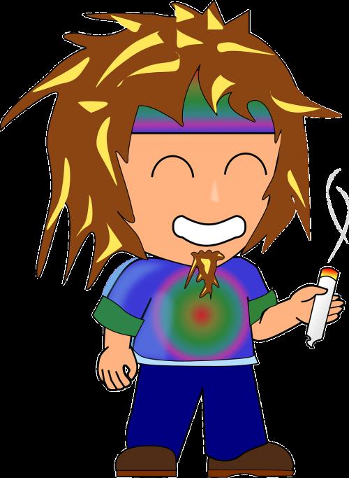 hippie woodstock character