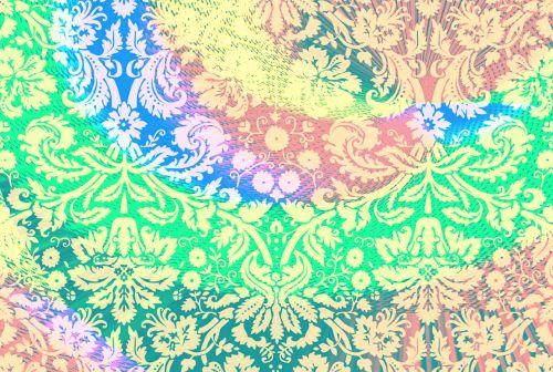 hippie fabric background tie dye