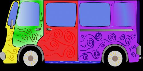 hippy van bus