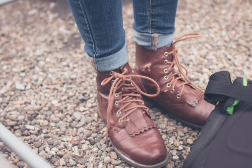 hipster shoes scene