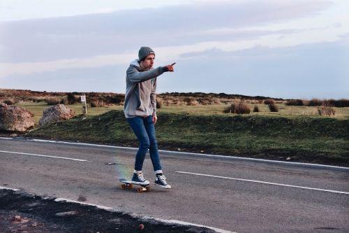 hipster skater road