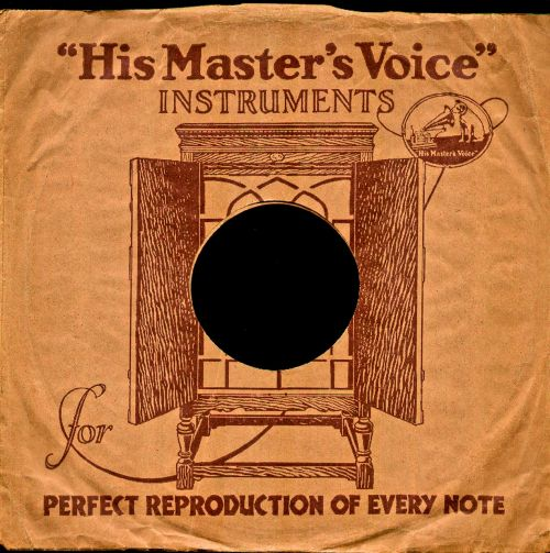 his masters voice shellac shellac disc