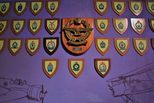 Historic Air Force Squadron Badges