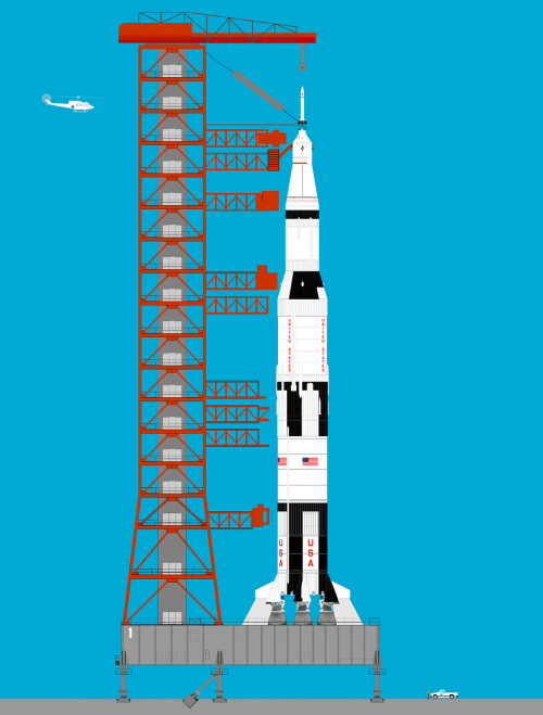historical rocket space program