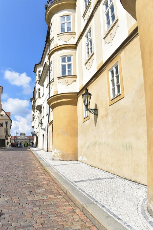 historical center prague building