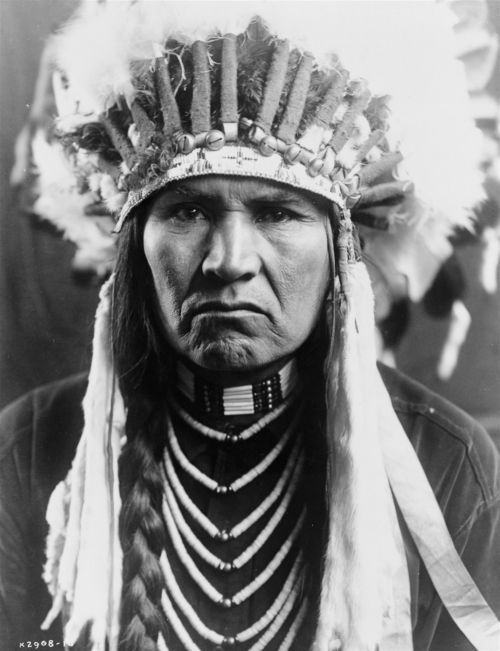 Historical Indian American Chief