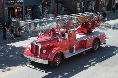 history firefighter truck