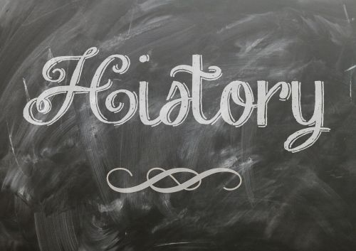 history blackboard chalk