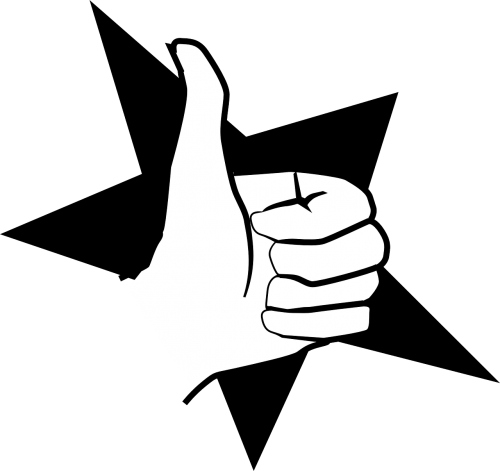 hitch hitchhike thumb up