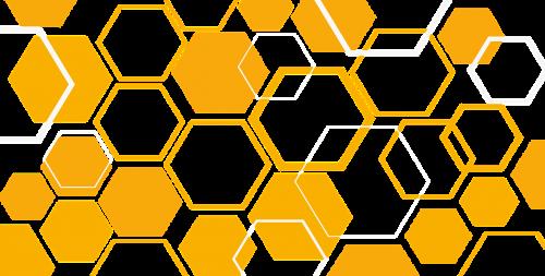 hive rhombus yellow