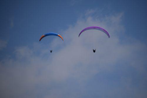 hobby paragliding paraglider