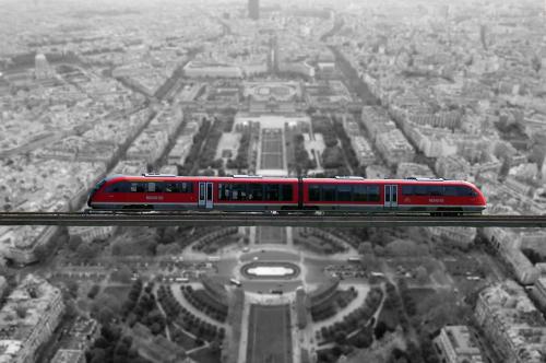 hochbahn train railway