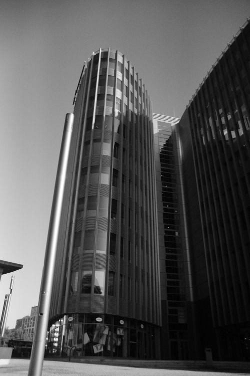 hochhaus tower deutsche bahn
