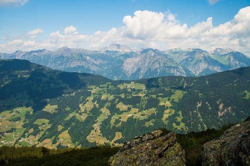 hochjoch  mountain summer  summer