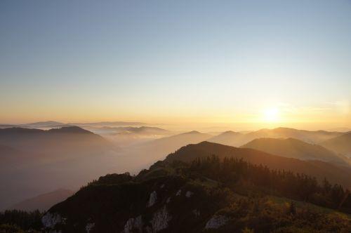 hochlantsch mountain sea of fog