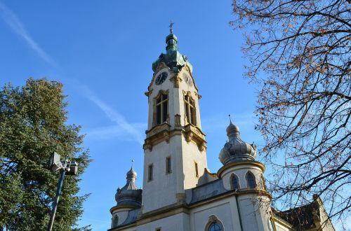 Hockenheim germany,bažnyčia,protestantas