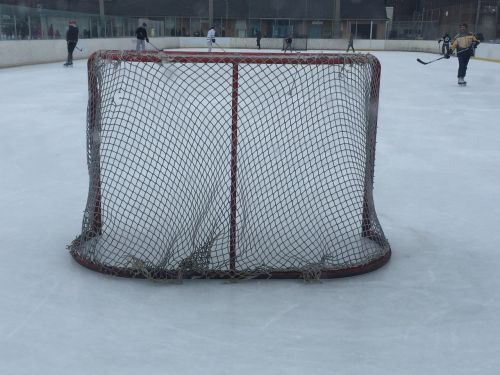 hockey net hockey rink
