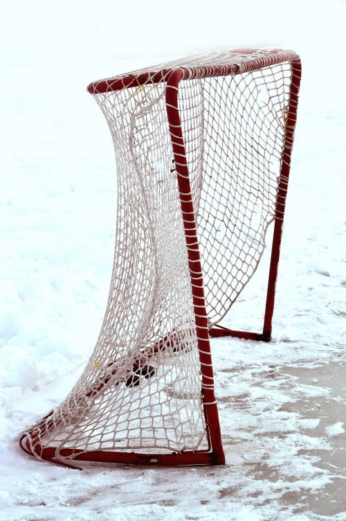 hockey net ice
