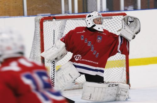 hockey goalkeeper rödtröja