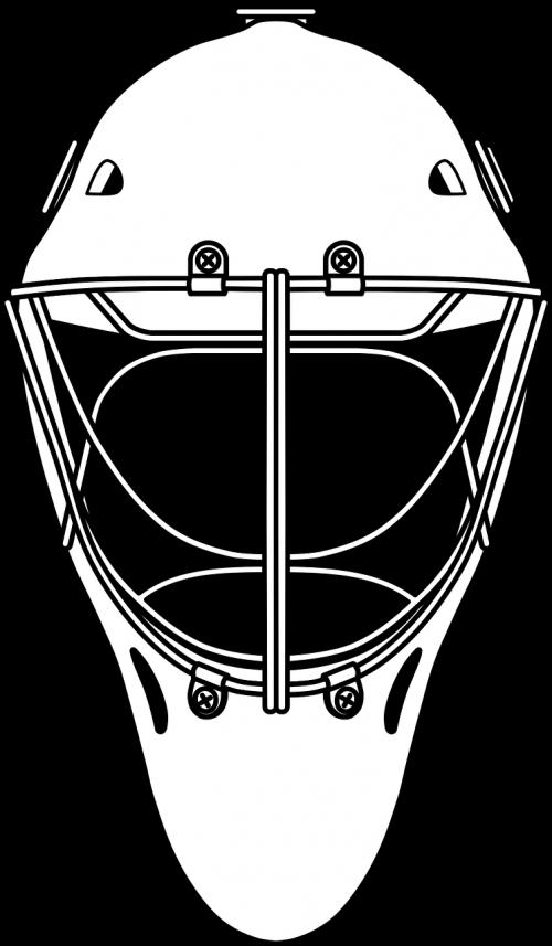 hockey goalie helm