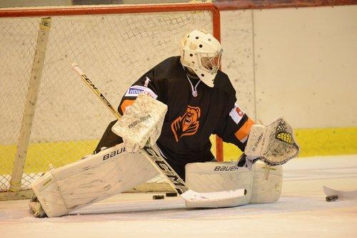 hockey  goalkeeper  goal