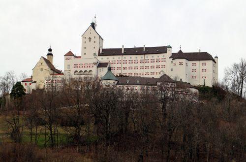 hohenaschau castle height burg