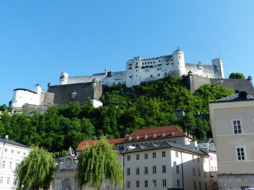 hohensalzburg fortress castle fortress