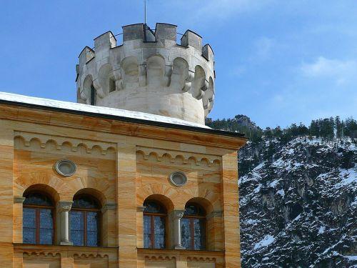 hohenschwangau closed castle