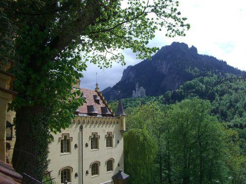 hohenschwangau castle neuschwanstein castle