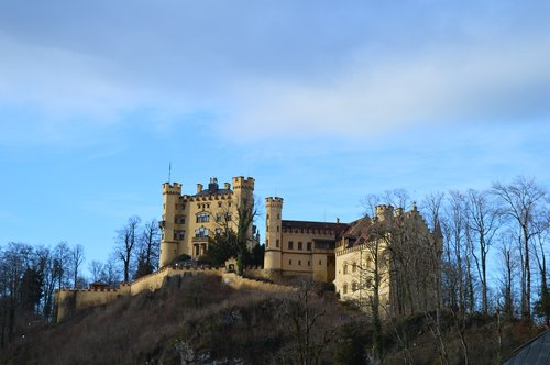 hohenschwangau  castle  füssen