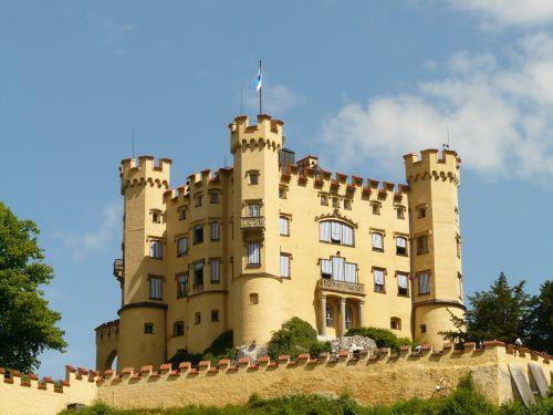 hohenschwangau castle places of interest
