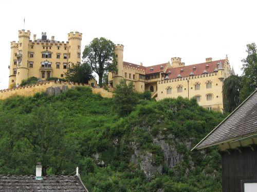 hohenschwangau castle neuschwanstein