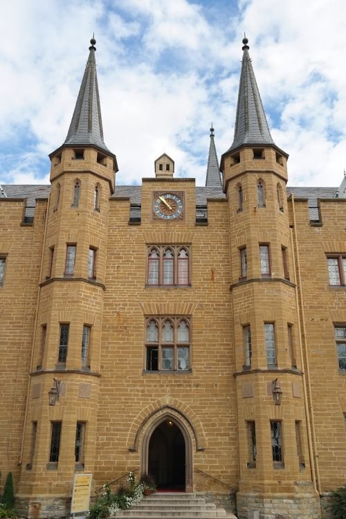 hohenzollern castle fortress