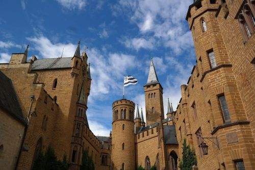 hohenzollern tower castle