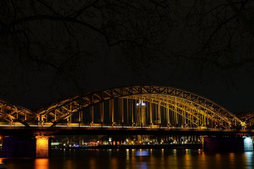 hohenzollern bridge rhine cologne