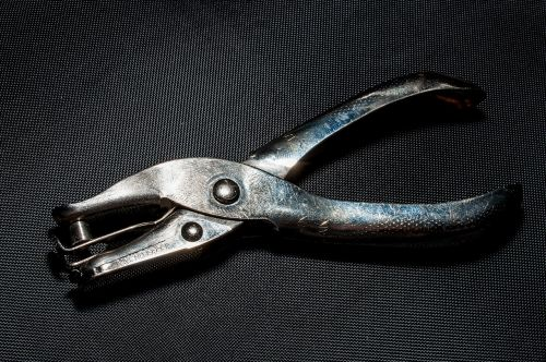 hole punch metal tool