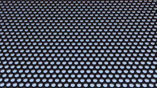 holes sheet grid