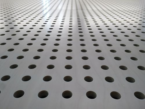 holes pattern perspective