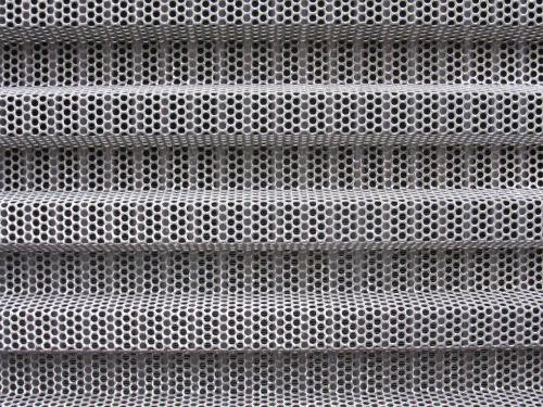 holes sheet folded