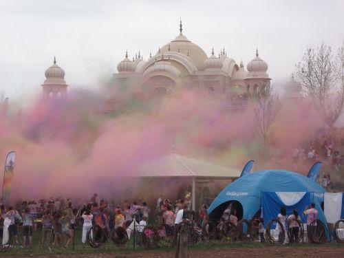 holi indian color