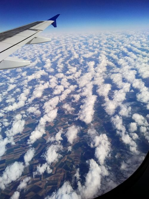 holiday flyer clouds