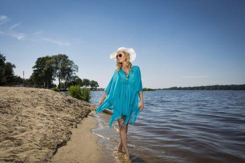 šventė,moteris,vasara,atostogos,mergaitė,gamta,saulė,atostogų paskirties vieta,Lenkija,skrybėlę