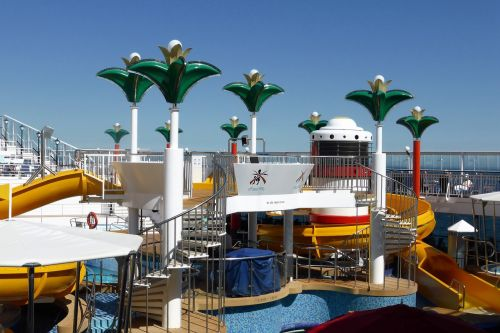 holiday cruise boat deck